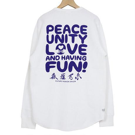 Daze'n Haze デイズンヘイズ Peace Unity Love And Having Fun サーマルシャツ
