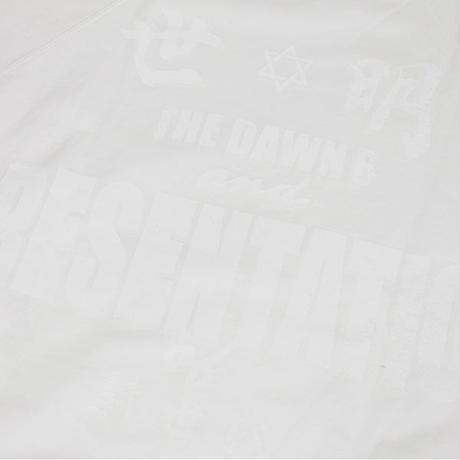 Auguste Presentation  × The Dawn B 夜明けの世明け 半袖 クルースウェット ホワイト
