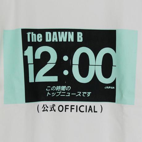 THE DAWN B LOCALIZE IT トップニュース スウェットシャツ ホワイト