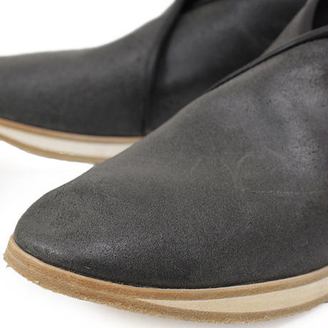 7CCR (セブンシーシーアール) 7170 Cross Top Hand Made Shoes BLACK CALF