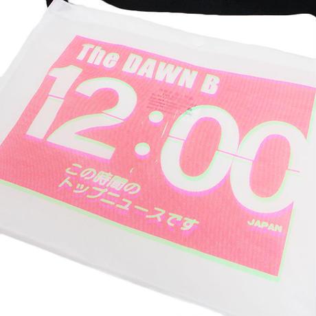 THE DAWN B  × bulbs 超軽量 サコッシュ WHITE/PINK