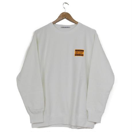 THE DAWN B LOCALIZE IT チャップリン スウェットシャツ ホワイト