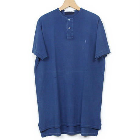 The Dawn B MADE IN USA POLO OVER DYED INDIGO No.1