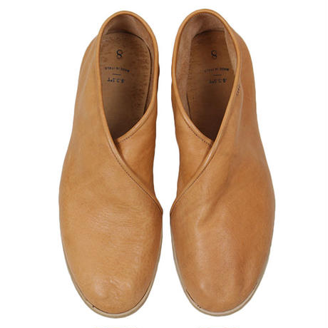 7CCR (セブンシーシーアール) 7160 Cross Top Hand Made Shoes BROWN HORSE HIDE