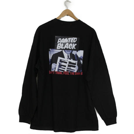 THE DAWN B LOCALIZE IT PAINTED BLACK 長袖Tシャツ ブラック