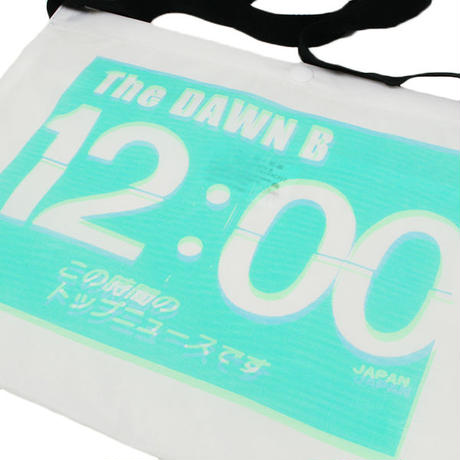 THE DAWN B  × bulbs 超軽量 サコッシュ WHITE/MINT