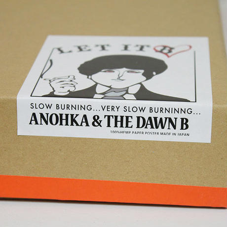 The Dawn B × ANOKHA (SLOW BURNING CLUB) LET IT BE ポスター 額入り