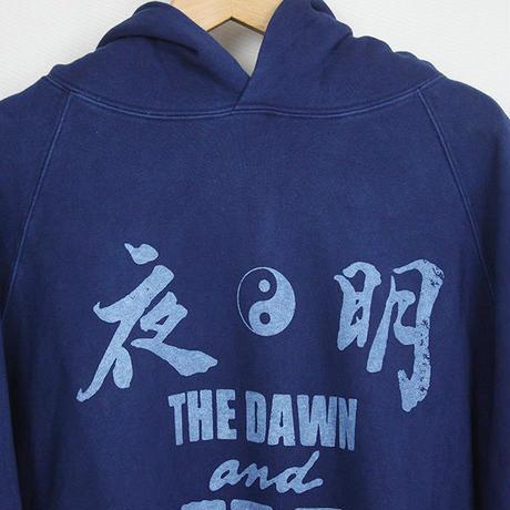 Auguste Presentation  × The Dawn B 夜明けの世明け  スウェットパーカー 琉球藍本藍染