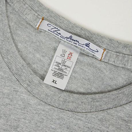 The Dawn B  ザドーンビィ MANGOSTEEN Tシャツ GREY