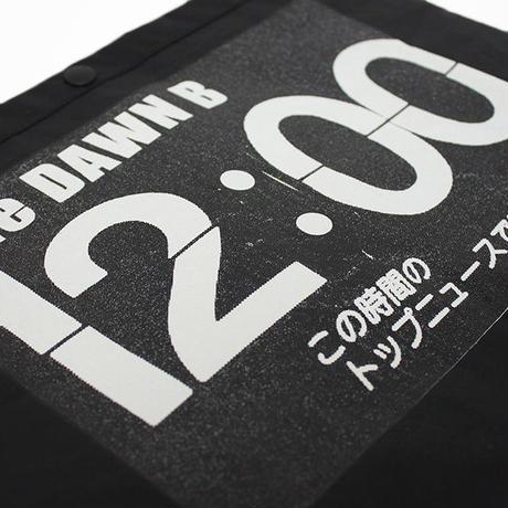 THE DAWN B  × bulbs 超軽量 サコッシュ BLACK/BLACK
