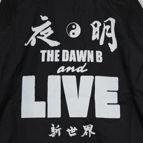 The Dawn B LOCALIZE IT 夜明 コーチジャケット BLACK