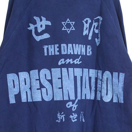 Auguste Presentation  × The Dawn B 夜明けの世明け クルースウェット 琉球藍本藍染