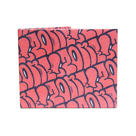 LIXTICK リックスティック PAPER WALLET – THROW UP PINK by ZENONE
