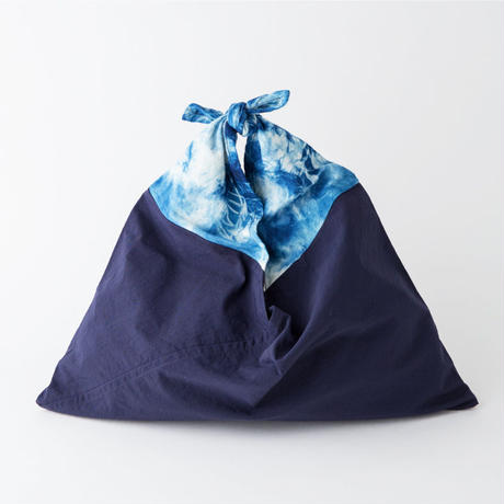 AZUMA BAG ×The Dawn B SMALL 正藍染 GRADATION & TIE DYE