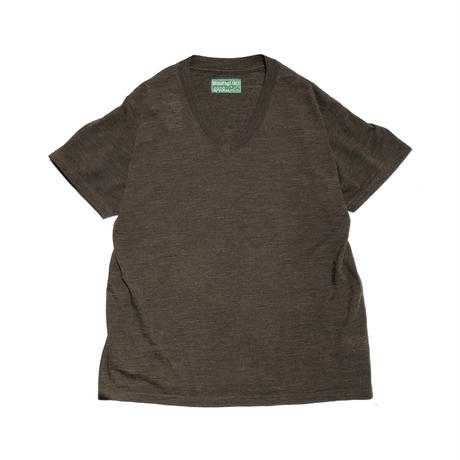 """BROWN by 2-tacs """"BAA#1 V-NECK"""""""
