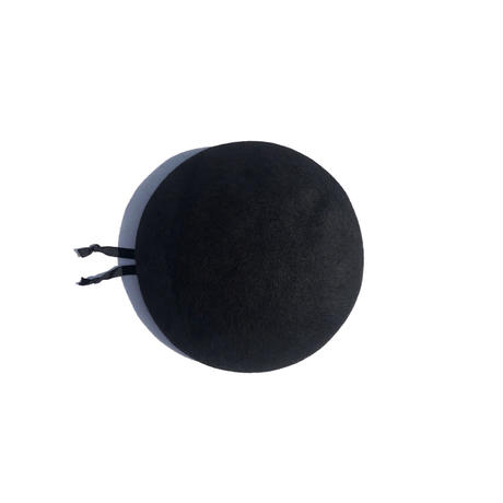 """COMESANDGOES """"LEATHER PIPING BERET"""""""