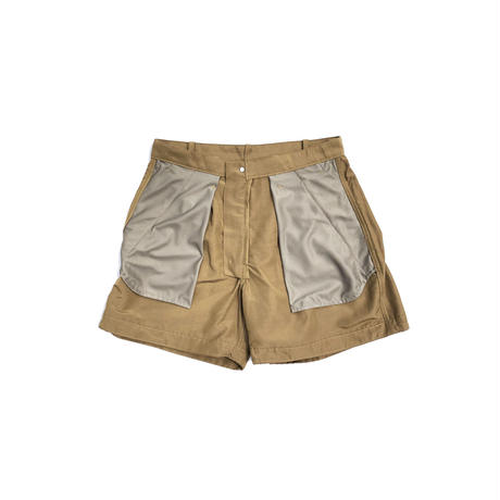 "BROWN by 2-tacs ""Tac shorts"""