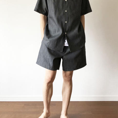 """STABILIZER GNZ """"lot.2-23 S/S wide tapered shirt"""""""