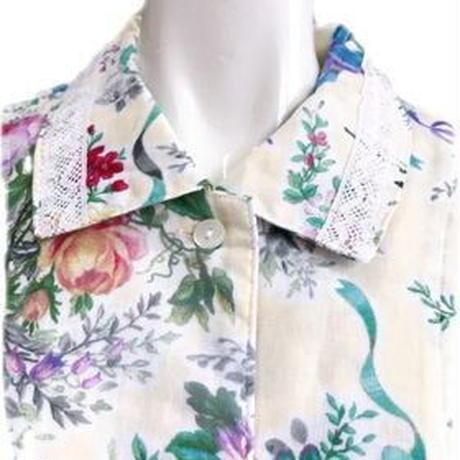 パジャマ コットン100%  ロマンティック花柄 No.29171