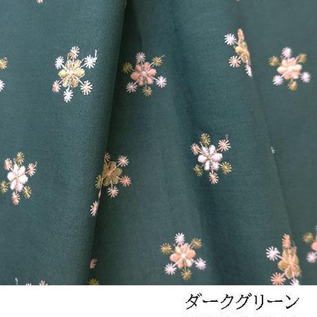 スポット花柄3色使いMAT021