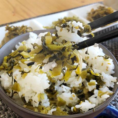 選べる  八百屋の高菜4種セット  無添加高菜 ぴり辛い高菜 高菜ごはんの素 ザーサイ高菜