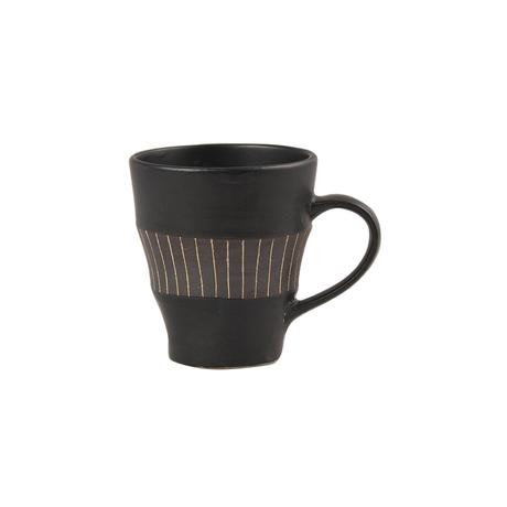 ブラック&ビター マグカップ(ライン)