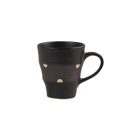 ブラック&ビター マグカップ(ドット)