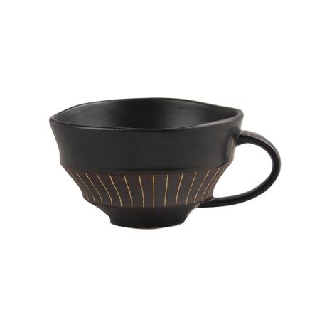 ブラック&ビター スープカップ(ライン)