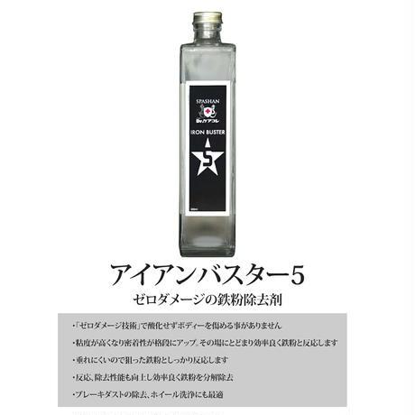 SPASHANスパシャン水垢バスター2 500ml&アイアンバスター5 500ml お得なセット商品 SHINKO シンコー カーコーティング