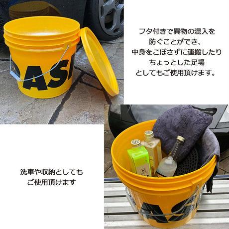 おしゃれ洗車グッズ SPASHAN スパシャン バケツ 15L 泡立てグリッドガード付き選べる6種類 洗車 カーケア コーティング剤 SPASHAN正規代理店SHINKOGUMI