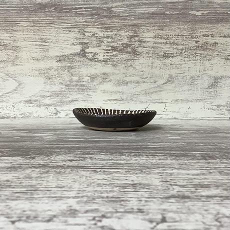 マカロンシリーズ たたき豆皿 マットピンク 1