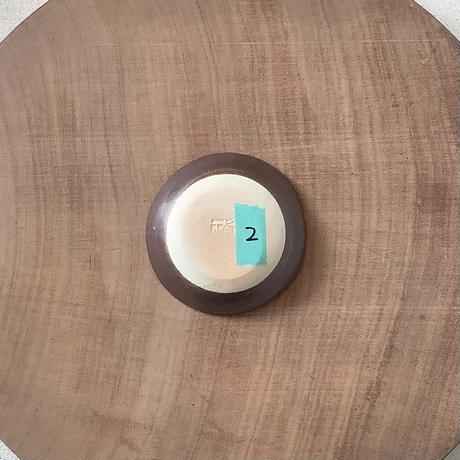 マカロンシリーズ たたき豆皿 ラベンダー 2