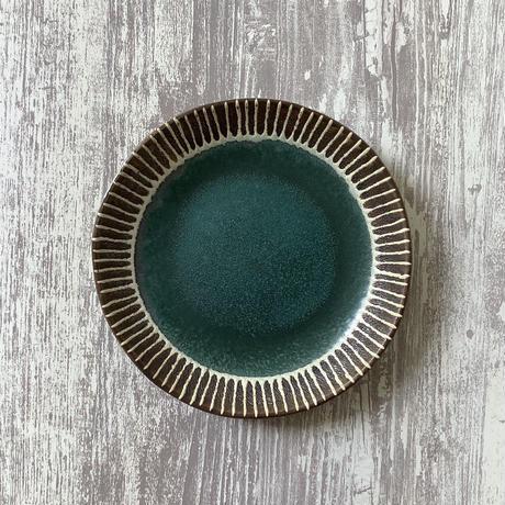 マカロンシリーズ 7寸皿 カーサグリーン 2