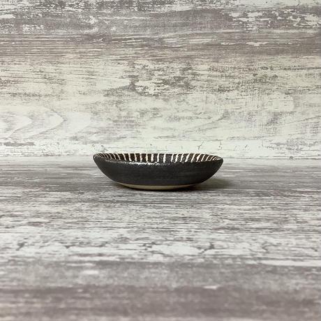マカロンシリーズ たたき豆皿 マットピンク 2