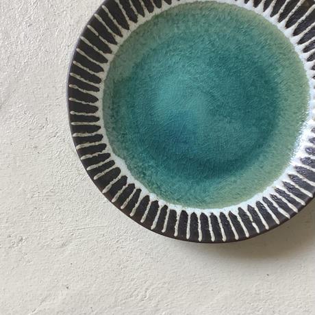 マカロンシリーズ 6寸皿 ペルシャ