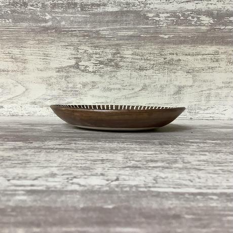 マカロンシリーズ 6寸皿 ターコイズ 1