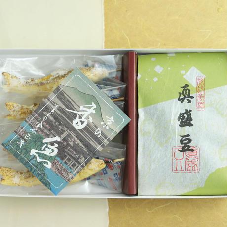 『鮎と苔のお菓子セット』ご進物用箱入り[送料込]( 同梱できません)