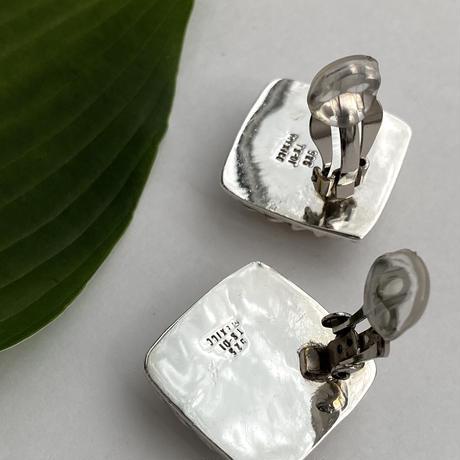 Grater Square Earring