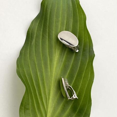 Hollow Oval Earring