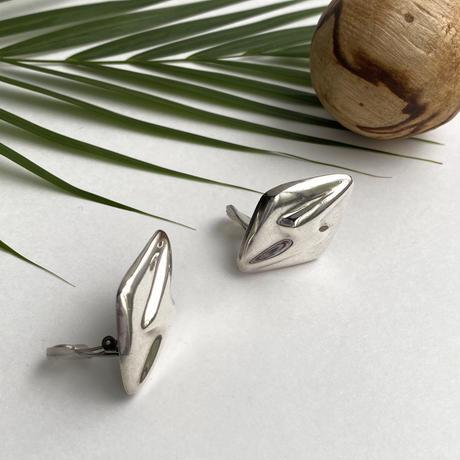 Lightning Rhombus Earring