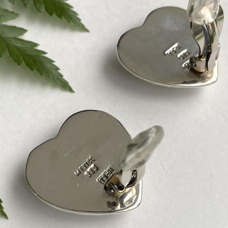 Jagged Heart Earring