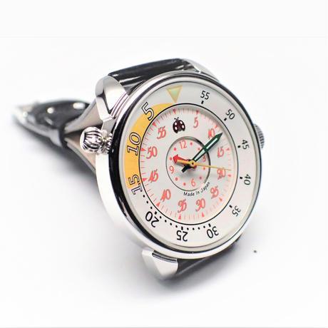合格時計・ジュニア イエロー&ブラック【BW-2951-005-YE・B】