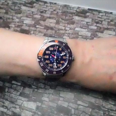 合格時計ジェンツサイズ オレンジ【BW-PW2951-002ーG-Orange】