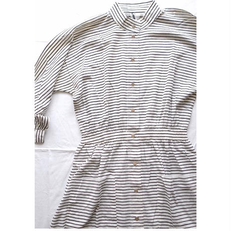 VUOKKO horizontal stripe dress
