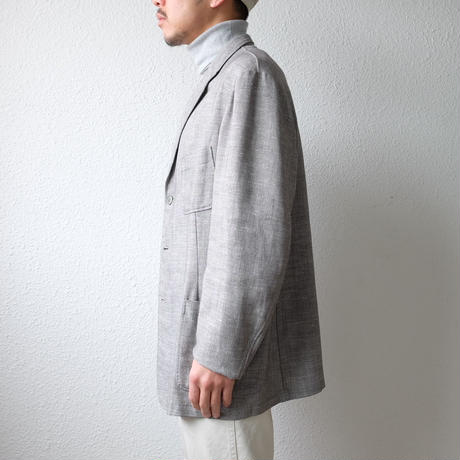 Finnish cotton linen 3 button Jacket