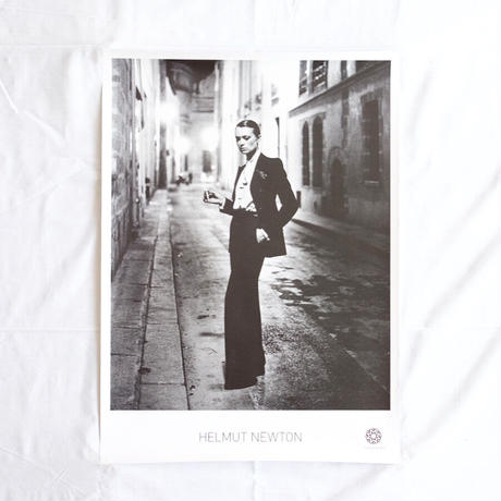 Yves Saint Laurent Look photo for VOGUE by Helmut Newton
