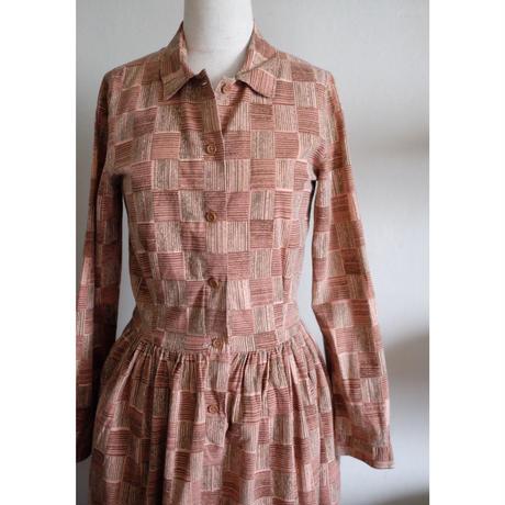 70s Marimekko dress w/belt