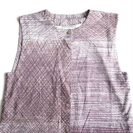 Marimekko Ishimoto fabric cotton vest