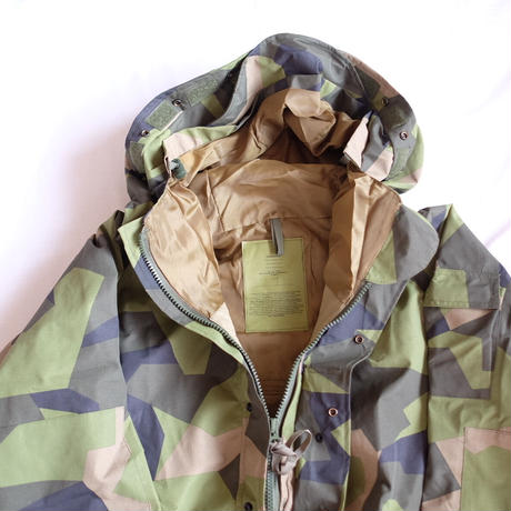 Swedish M90 camouflage ECWCS parka