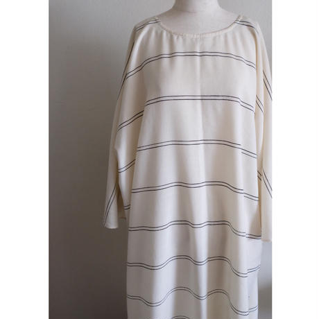 VUOKKO stripe wool dress